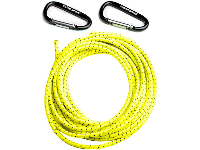 Swimrunners Support Pull Belt Cord DIY 5m Neon Yellow